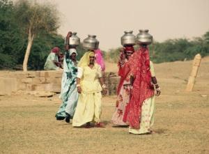 Mujeres en el desierto del Thar.