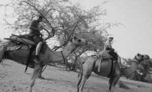 Como Peter O'Toole en Lawrence de Arabia