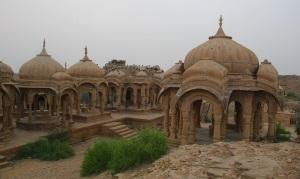 Tumbas de los Maharajas de Jaisalmer.