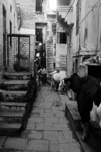 Callejuelas de Varanassi.